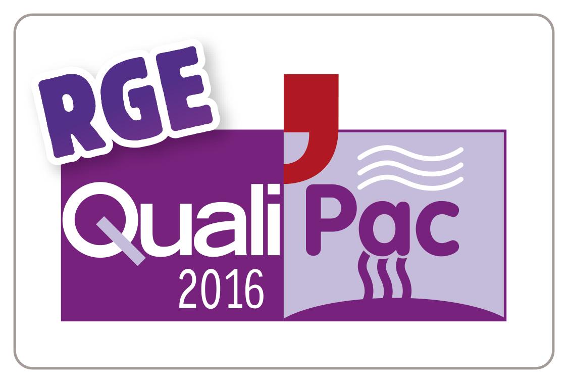 Logo QualiPac RGE 2016