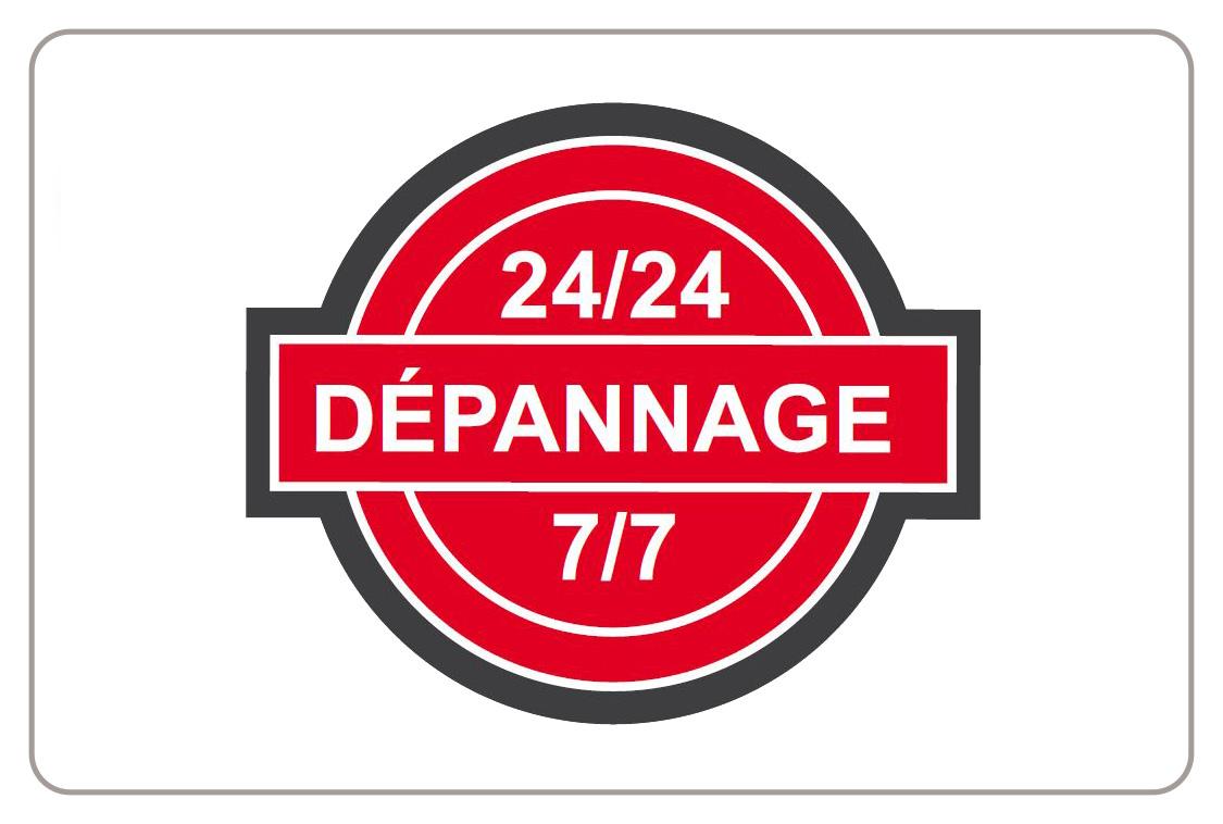 depannage 24h/24 7/7
